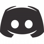 Discord logo to which the online art school is connected